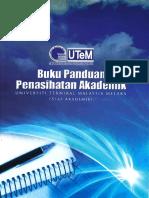 Utem Buku Panduan Penasihatan Akademik