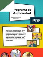 Programa de Autocontrol Psicología