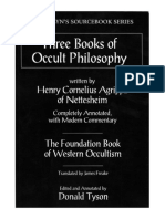 Three Books of Occult Philosophy - Henry Cornelius Agrippa (Donald Tyson Edition) [1 eBook - PDF]