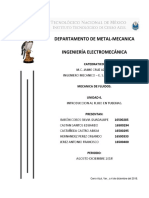 UNIDAD 6 INTRODUCCION AL FLUJO EN TUBERIAS..docx
