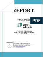 Report Bathymetry PT.smoe Indonesia - 100719