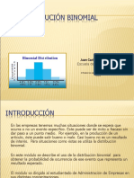 distribuicion binomial