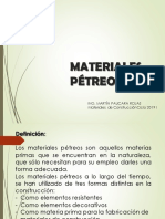 Clase 9 Materiales Petreos
