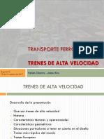 Presentación Trenes Alta V