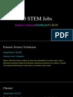 10 Stem Jobs