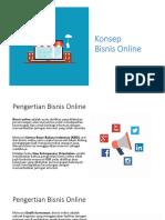 Modul 1 - Konsep Bisnis Online