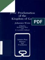 WEISS, Johannes (1971, 1985), Jesus' Proclamation of the Kingdom of God. California, Scholars Press(1).pdf