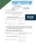 Practice Test BM