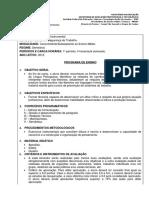 [DC,SG] Segurança Do Trabalho (Concomitante) 2009 PE 05 Português Instrumental