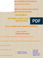 Bioquímica Historia 2019