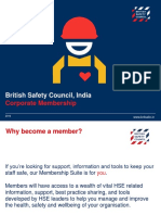 British Safety Council Memberhship v3