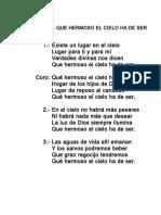 233.- QUE HERMOSO EL CIELO HA DE SER.doc
