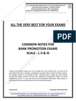 Bank Promotion Exam Notes by Murugan-2019