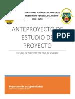 1.-Estudio Final de La Clase de Proyectos. 2019