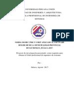 NORMA ISO/IEC 27001 Y COBIT APLICADO AL SOFTWARE SINGER-MF