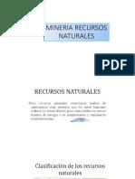 La Mineria-Recursos Naturales No Renovables