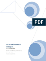 Educación Sexual Integral- Plani Para Final