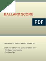 1.3 Ballard Score