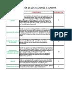 Matriz de Desiciones Bactereologico Electroquimico