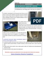 Charla Integral - Uso Adecuado de Los Servicios Higienicos y Estufas