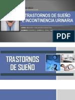 Trastornos de Sueño e Incontinencia Urinaria (Expo)