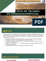 6.-Paràmetros de Taludes en Mineria superficial..pptx