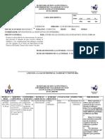 Carta Descriptiva 1