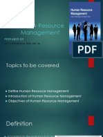 Human Resource Management Ppt Unit 1