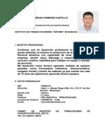 CV - Excavadora - Ciro Condory