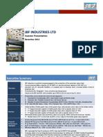 JBF Investor Presentation - Dec 2012