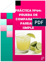 Informe Nº09 Comparacion Pareada Simple