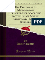 Muhammadan Law