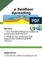 The Seafloor Spreading