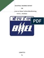 Rishabh Indst. Training Report BHEL-HW 2017.