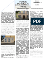 Bulletin n° 5 Place Publique
