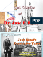 Jose Rizals Formative Years