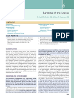 6 Sarcoma of the Uterus 2018 Clinical Gynecologic Oncology