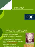1. Historia de La Ecologia Pregrado (Final) 03-02-2015