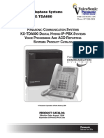KX-TDA600 Product Catalog 2006