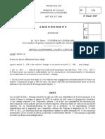 Amendements du groupe CRCE et de Mme Lienemann au projet de loi énergie-climat