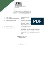 LPD Panwascam Ke Kelurahan Juni Anggaran APBD