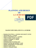 Planing and Design of LI Schemes