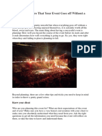 How to Make Sure That Your Event Goes off Without a Hitch.pdf