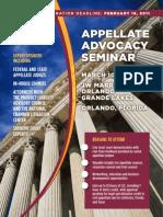 2011 DRI Appellate Advocacy Seminar