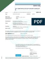 KEMA Type Test Report for 1500kVA, 33kV