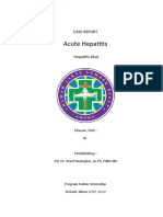 Laporan Kasus Hepatitis