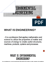 1 Environmental Engineering