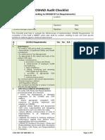 Cor-ohs-taf-000-000 Oshad Audit Checklist, V1