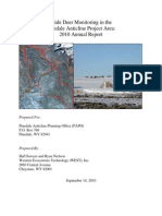 Mule Deer Monitoring 2010 Annual Report