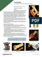 Reguladores de Caudal Valvulas de Equilibrado